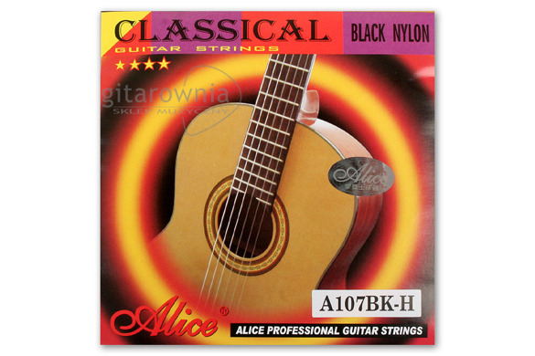 ALICE A107 Black Nylon