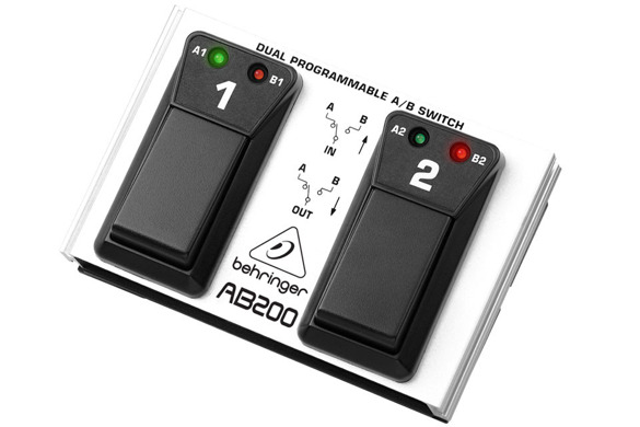 BEHRINGER AB200 Footswitch