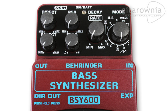 Behringer BSY-600  Bass Synthesizer, efekt do gitary basowej