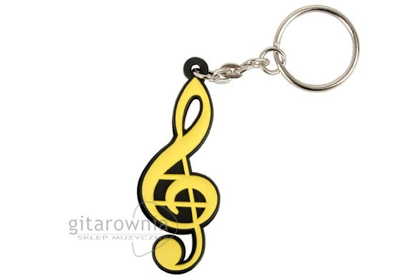 Brelok do kluczy Yellow Violin Key