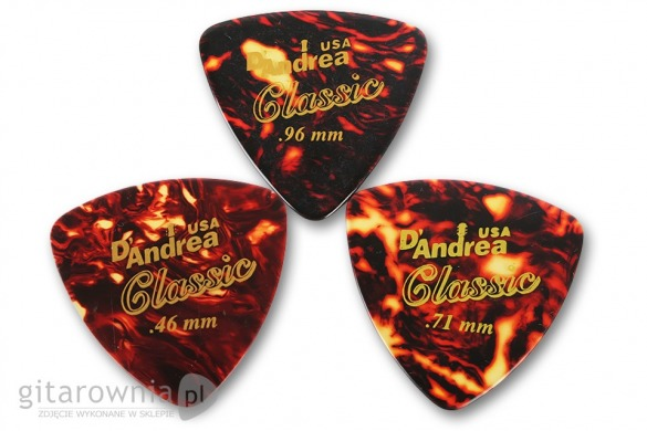 D'ANDREA 346 Classic Celluloid Shell .96