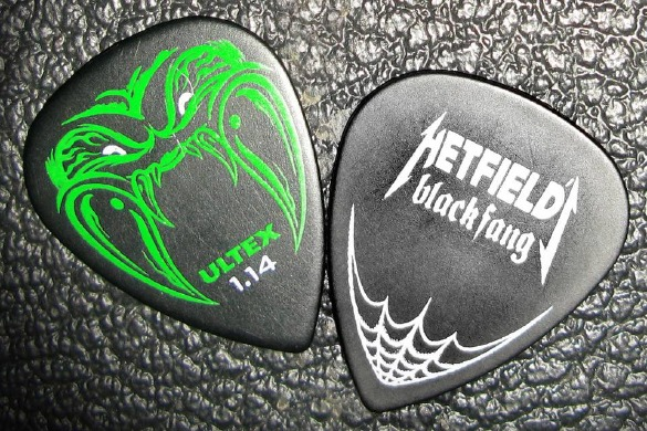 DUNLOP kostka gitarowa James Hetfield Black Fang .73