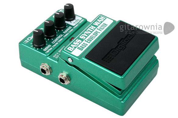 Digitech Bass Synth Wah | efekt basowy typu Evelope filter