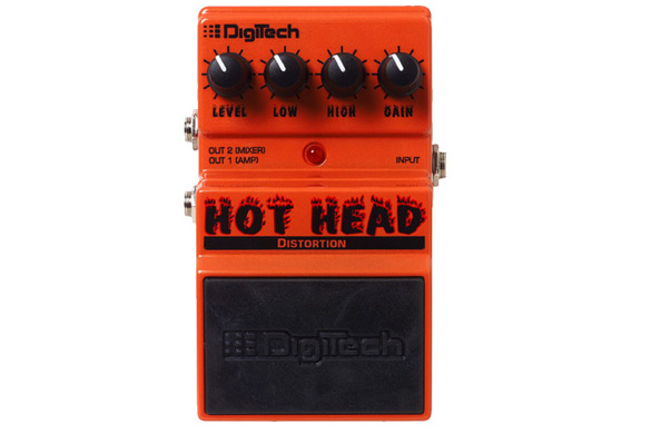 Digitech Hot Head | efekt gitarowy typu Distortion