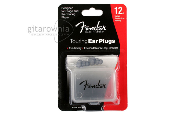 FENDER | 0990543000 | Touring ear plugs | zatyczki do uszu stopery