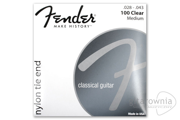 FENDER 100 Clear