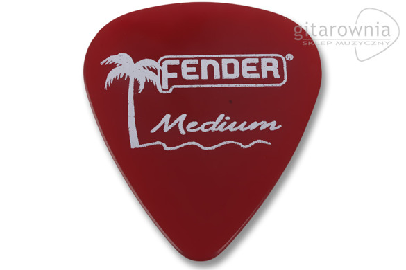 FENDER 351 California Clear Candy Apple Red Medium