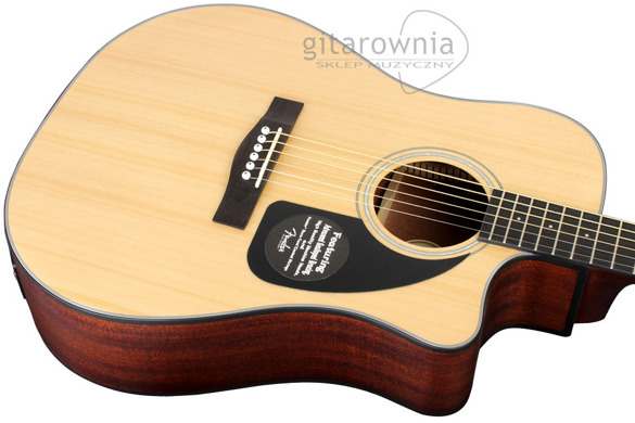 FENDER CD100 CE NAT v2