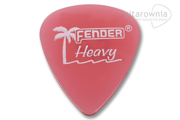 FENDER California Clears Burgundy Mist kostka gitarowa Heavy
