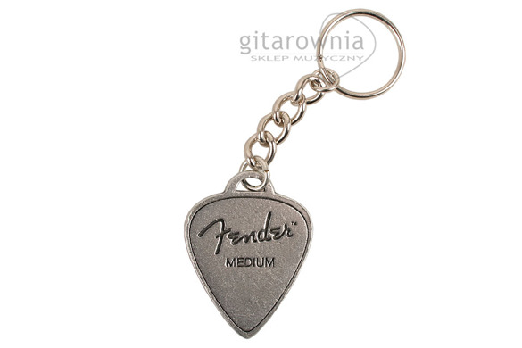 FENDER Medium Pick brelok kostka