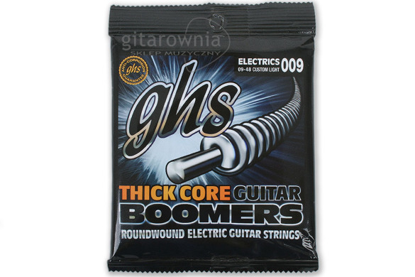 GHS HCGBCL struny thick core boomers | 9-48