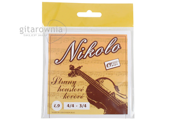 GOR STRINGS NIKOLO struny do skrzypiec 3/4 - 4/4