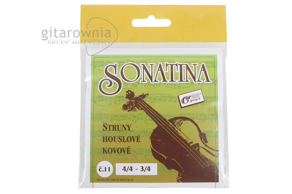 GOR STRINGS SONATINA struny do skrzypiec 3/4 - 4/4