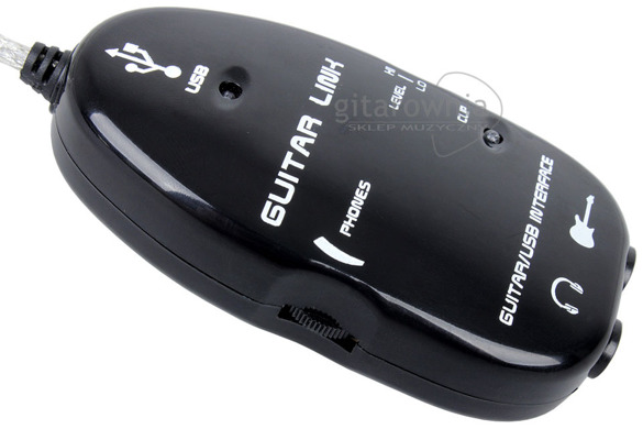 GPARTS GUITAR LINK interface audio USB