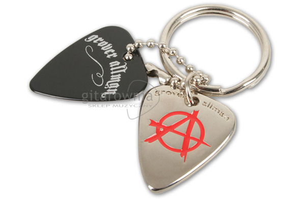 GROVER ALLMAN KR0027 brelok Pick Keyrings Anarchy