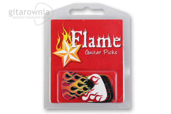 GROVER ALLMAN PIC0226 Flame 5 Pack