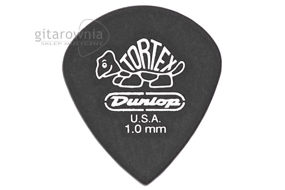 JIM DUNLOP Tortex® Pitch Black Jazz III kostka gitarowa 1.0