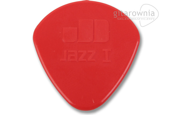 JIM DUNLOP kostka gitarowa Jazz I Red Nylon