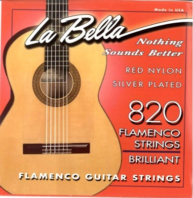 LA BELLA 820 Red Flamenco