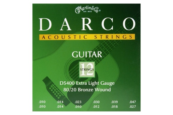MARTIN Darco D5400 struny | 10-47 | 12