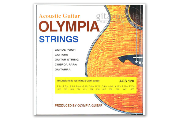 OLYMPIA AGS120 struny | 10-47 | 12