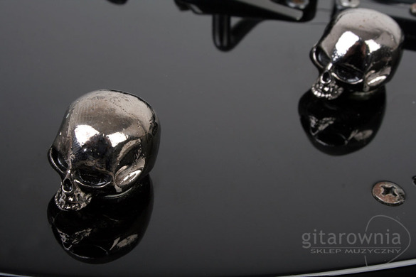 Q-PARTS Skull Black gałka