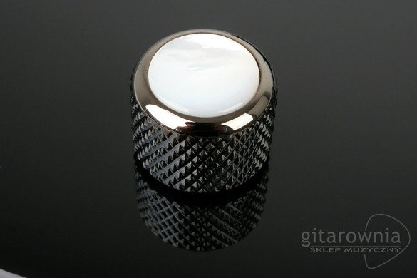 Q-PARTS gałka na potencjometr | knob | Mother of Pearl Black