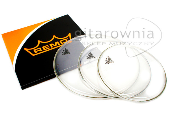 "REMO Emperor Clear SET [10"" 12"" 16""]"