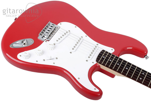Squier by FENDER Bullet Strat FRD