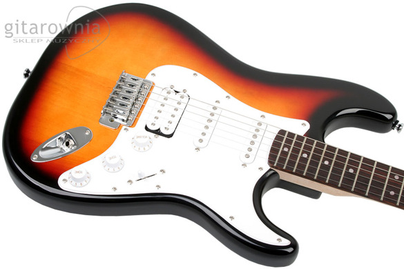 Squier by FENDER Bullet Stratocaster HSS BSB