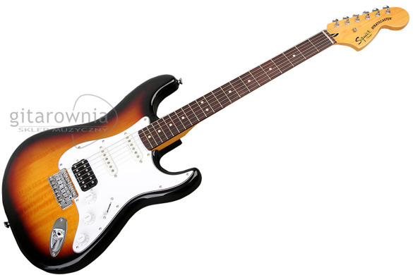 Squier by FENDER Modified Strat HSS RW 3TS