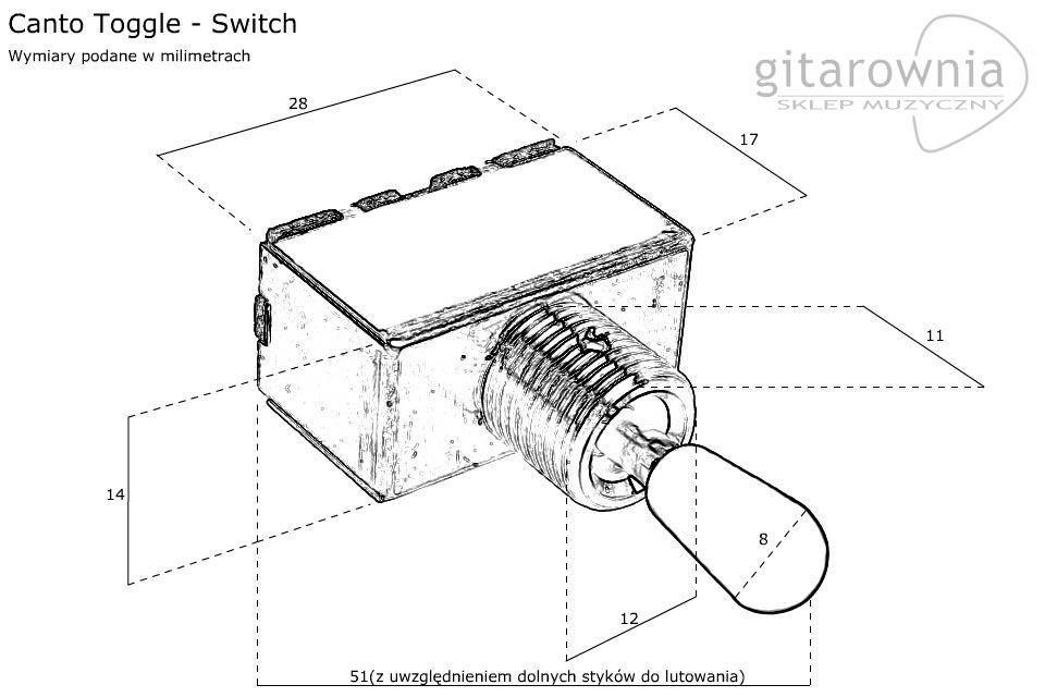jak podłączyć 3-pozycyjny przełącznik