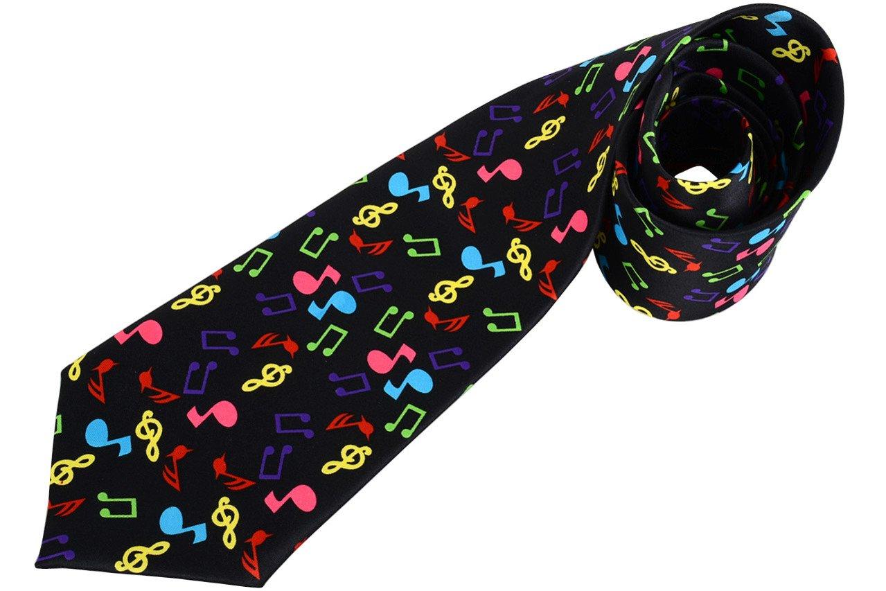 0c46be6c6fd7ae RUBY MG362 krawat kolorowe nutki