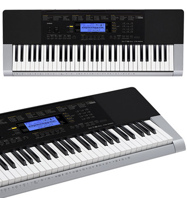 CASIO keyboard CTK 4400 + statyw