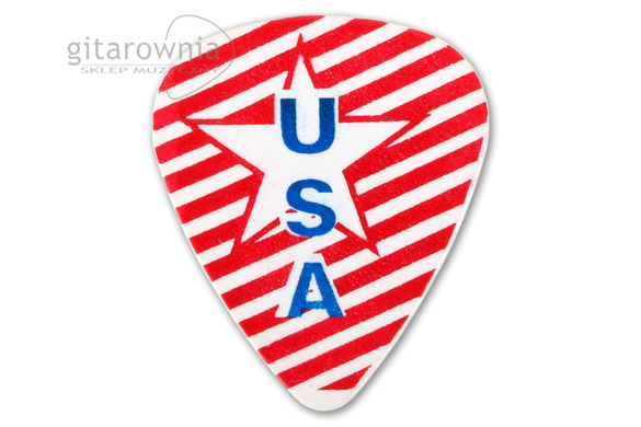 D'ANDREA USA351 White Star, kostka gitarowa medium