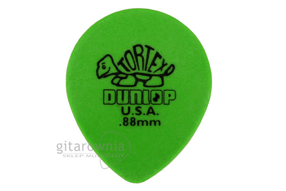 JIM DUNLOP TORTEX! Tear Drop .88
