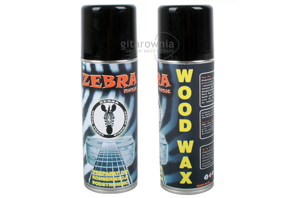 ZEBRA MUSIC preparat Wood Wax